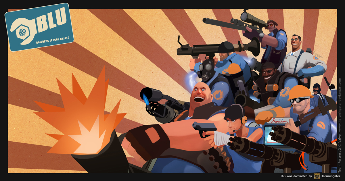 TEAM FORTRESS 2 : B.L.U