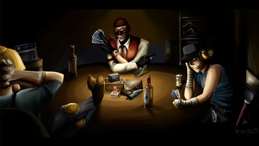Team Fortress -Cardsharps-